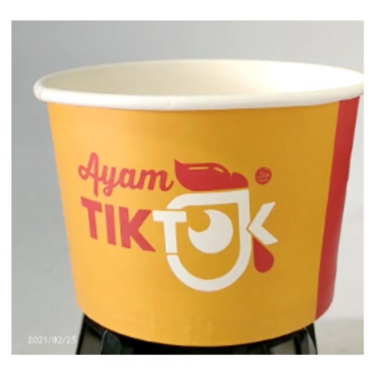 Custom Cetak Paper Bowl