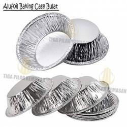 Alufoil Baking Case Bulat